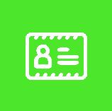 Icon Führerschein Grün Weiß