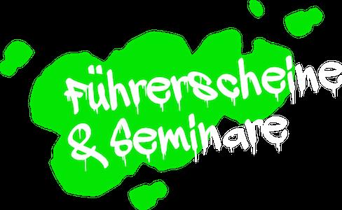 Führerschein und Seminare
